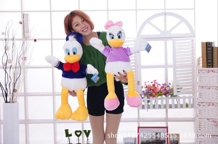 Genuine Donald Duck Daisy Duck doll plush toy children's Day gifts , christmas gift free shipping Kawaii Plush Animal Plush(China (Mainland))