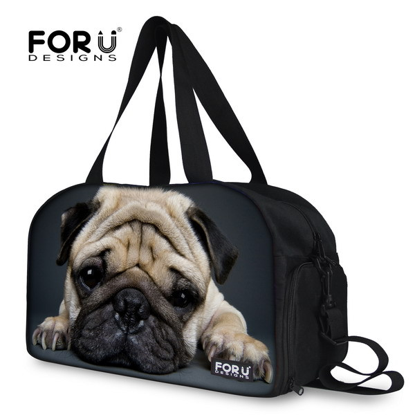 Brand 3D animal cat face yoga bag women cute ladies gym tote exercise mat multifunction