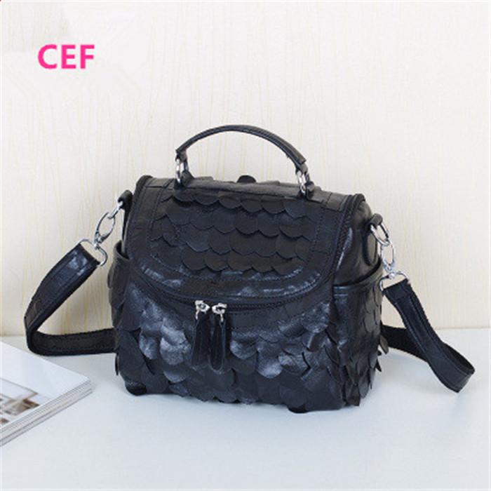 Women Messenger Bags Designer Genuine Leather Handbag Brand Sheepskin Shoulder Crossbody Bags Bolsas ladies small package
