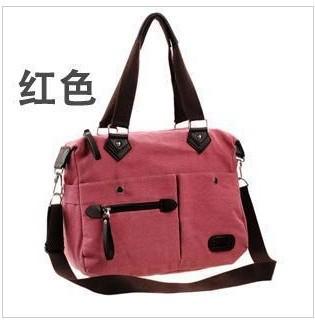 Canvas bag women's handbag 2013 shoulder bag messenger bag vintage fashion women  school bag