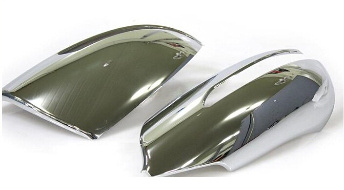 LED style! For Kia Sportage 2011 2012 2013 Chrome Side Rearview Mirror Cover Trims High quality!(China (Mainland))