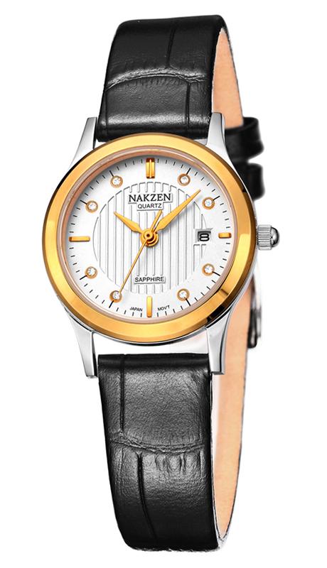 NAKZEN SL4011LBK-7N3 watches men luxury brand JAPAN MOVT MIYOTA womens belts ultra-thin fashion quartz watch relogio masculino<br><br>Aliexpress