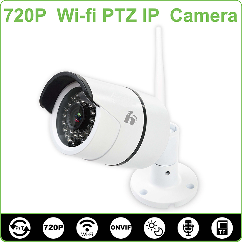 H Waterproof 720P Security IP Camera Bullet Outdoor Wifi Camera Wireless Night Vision ONVIF P2P(China (Mainland))