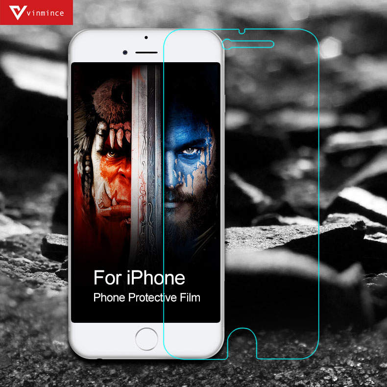 Full Cover Tempered Glass Screen Protector for iPhone 6 Plus 6s Plus Glass Blu-ray protect eyes Protective Film(China (Mainland))