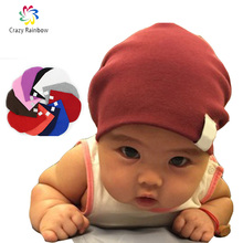 Newborn Winter New Unisex Baby Boy Girl Kids Toddler Infant colorful Cotton Soft Cute Hats Cap Beanie(China (Mainland))