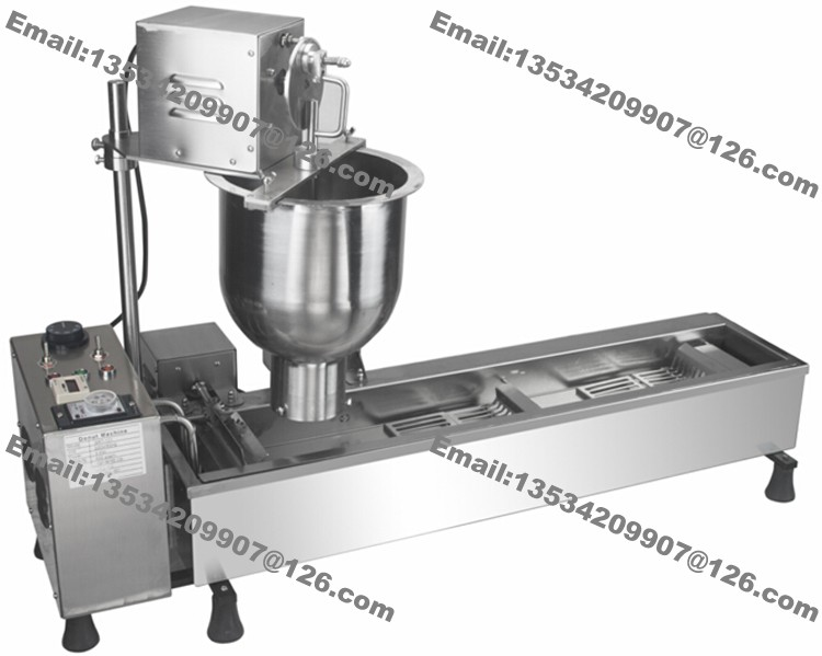 300-500PCS/H Commercial Stainless Steel 110v 220v Electric Automatic Donut Doughnut Machine Maker Fryer with One Donut Mould(China (Mainland))