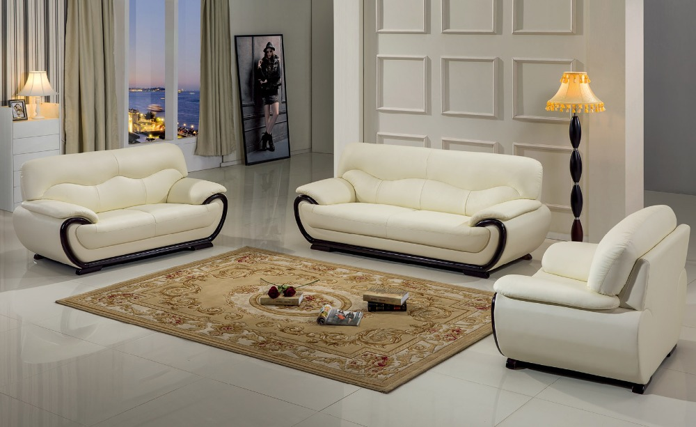 Chaise no 2016 promotion european style set genuine for Sofa set designs for living room