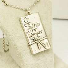 Zinc Alloy Classic Statement Necklace Hobbit Bilbo Baggins Deed Of Covenant Pendant Necklace Free Shipping.