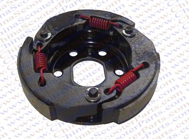 Racing Clutch shoe font b GY6 b font 50CC 139QMB 139QMA DIO 50 Scooter Taotao Jonway