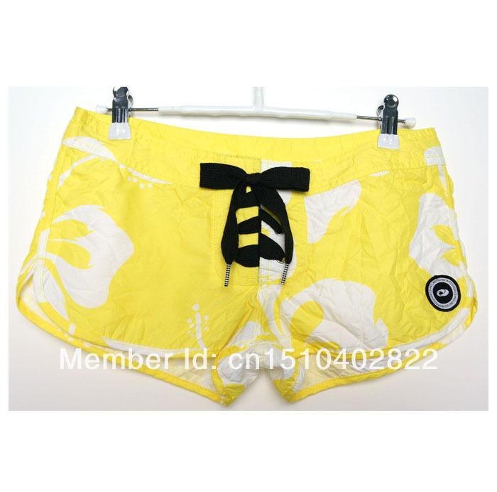 Free shippng fashion fabric special puckering treatment board /swim short hot short spa short home short for WOMEN GIRL LADIES(China (Mainland))