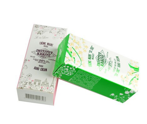Hand Cream Paper Packaging Box, Cosmetics Boxes Print 32*32*120 mm (buyer design only)(China (Mainland))
