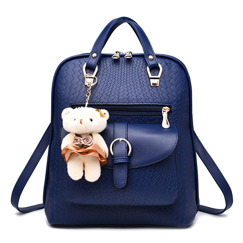 Fashion Lady Faux Leather Backpack