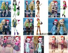 2016 new original doll clothes dress for Original Monster toys high dolls ,Free shipping  doll dress for Monster inc high dolls(China (Mainland))