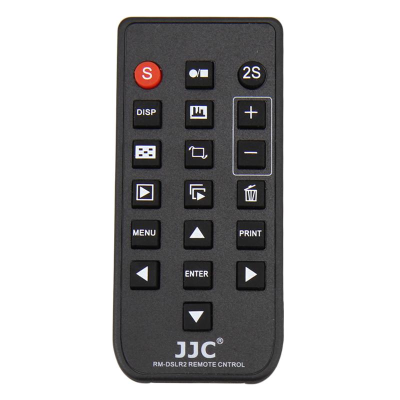 JJC wireless Remote Control for SONY NEX 7 6 5C 5R 5T A57 A77 II A7S A7 A7II A7R A7RII A7SII A6000 A99 A6300 A900 AS RMT-DSLR1 2