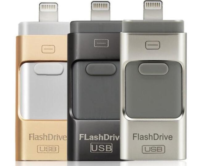 2016 i-Flash Drive 16gb 32gb 64gb 128GB 256gb Mini Usb Pen Drive /Otg Usb Flash Drive For iPhone 5/5s/5c/6/6 Plus/ipad Pendrive(China (Mainland))