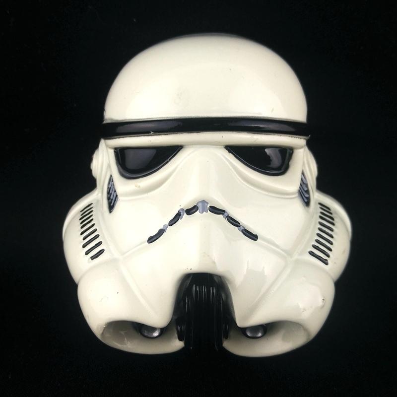 Star wars mask stormtrooper helmet Big metal buckle for belts accessories 100pcs wholesale custom belt buckles cowboy(China (Mainland))
