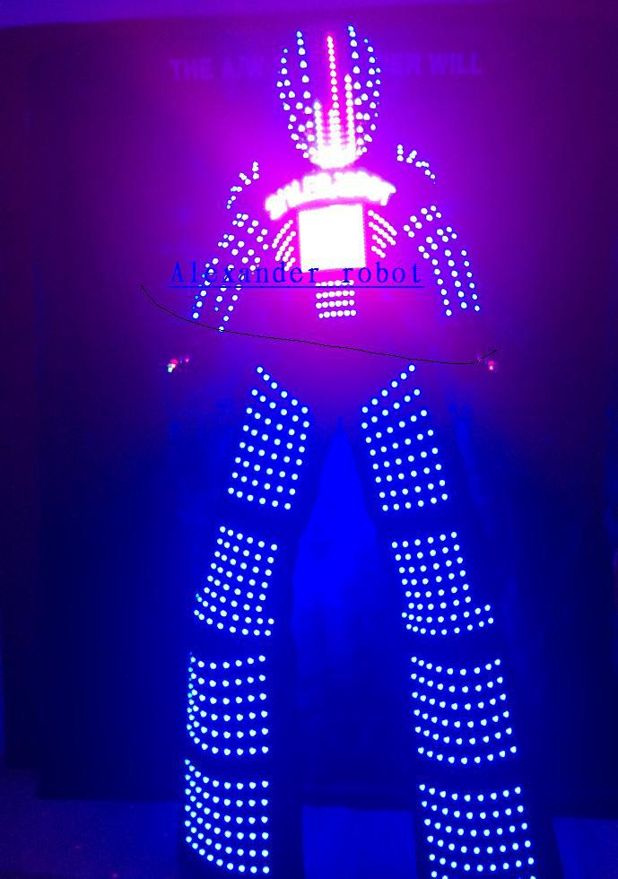 LED Costume /LED Clothing/LED Light suits/ LED Robot suits/ Alexander robot suit(China (Mainland))
