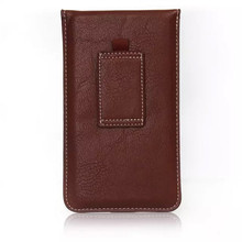 Buy New Fashion Noble belt Slot Holster Cell Phone Bag Pouch Flip Leather Cover Skin Case ZTE Nubia Z11 for $4.89 in AliExpress store