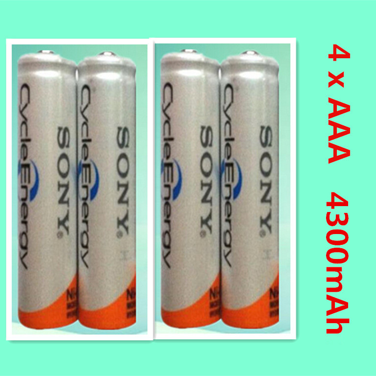 Brand New high quality NI MH AAA HR03 AAA Rechargeable Batteries For with a 1 2