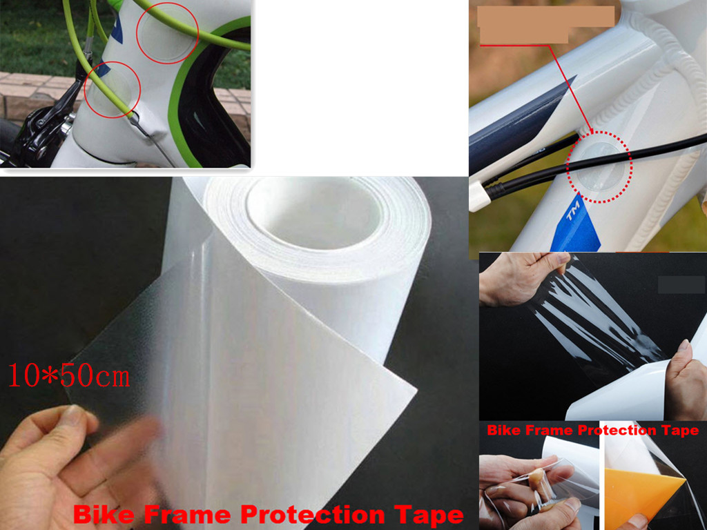 1pc anti-scratch Sticker cover Bicycle Frame Decal Tape Cycling Bicycle Bike Protector Cycling Stickers Bicycle Parts cover