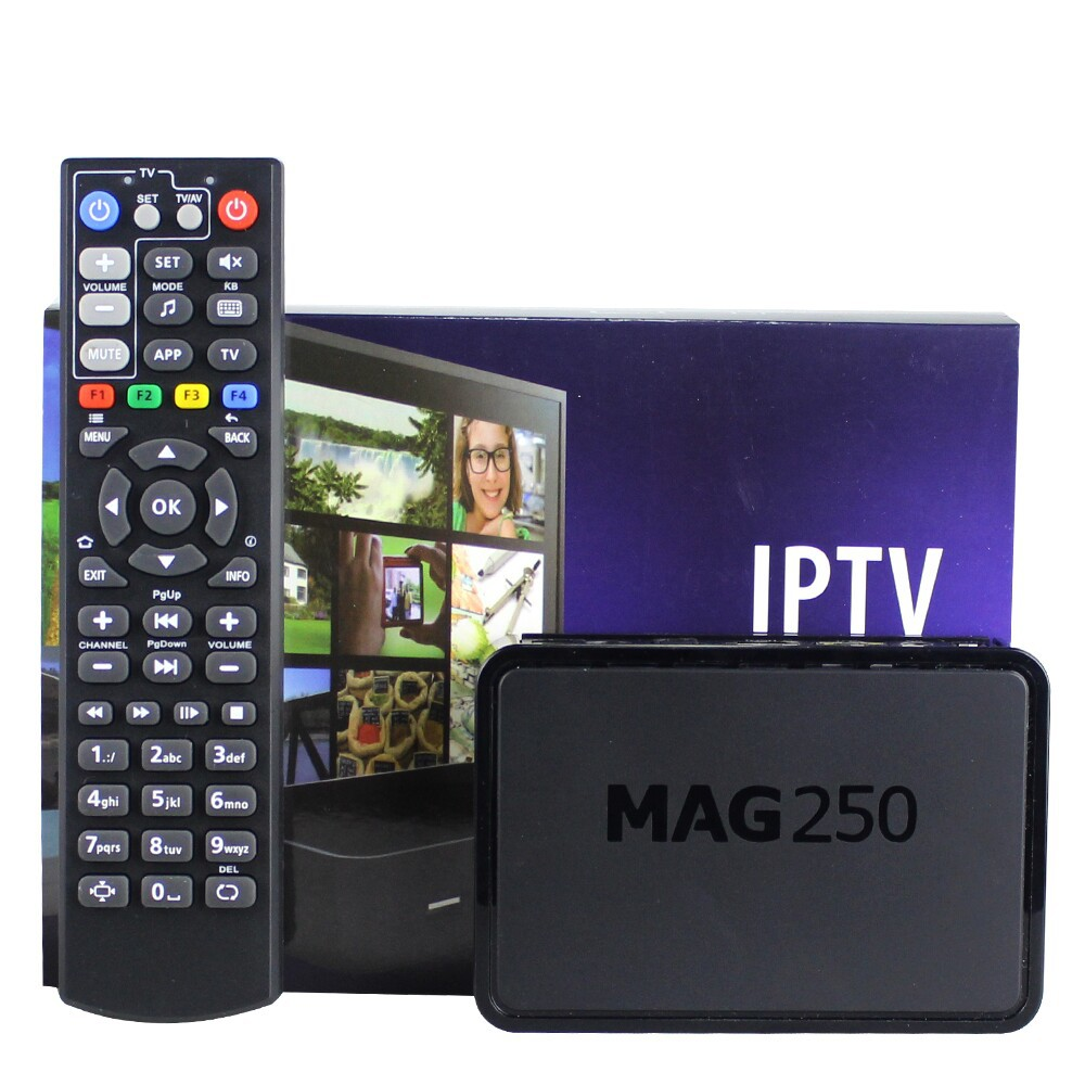 Mag250 Linux 2 6 23 System IPTV Set Top Box Processor STi7105 RAM 256 Mb Free