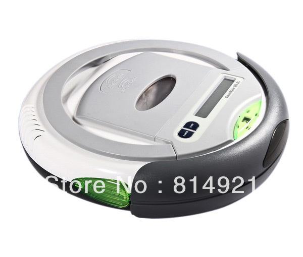 (Free to EURO) Robotic vacuum cleaner QQ2L-B time control,auto-charege cleaner,origina design,good quality,good price