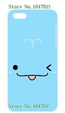 MObile Plastic Phone Case for IPHONE 5C free shipping Fashional New Arrival Cute Cartoon Blue Design