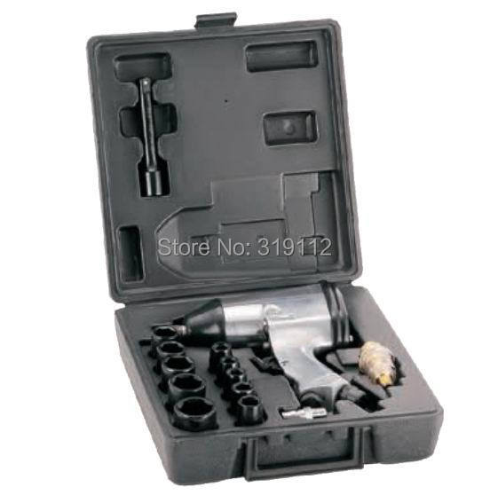 1/2 inch air impact wrench Pneumatic tools, industrial pneumatic wrench tool kit FD-2508K(China (Mainland))