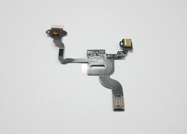 10pcs/lot Proximity Light Sensor Power Flex Cable for iPhone 4 4G