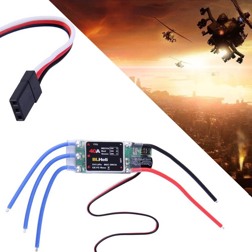 BLHeli 2S-6S 40A ESC Electric Speed Control For RC Quadcopters Multicopters A190(China (Mainland))