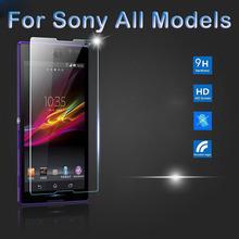 9 H настоящее премиум закаленное стекло защитная пленка для Sony Xperia E3 Z2 Z3 Z4 Z5 мини-компактный T3 T2 C3 C4 E4 M4 аква M5