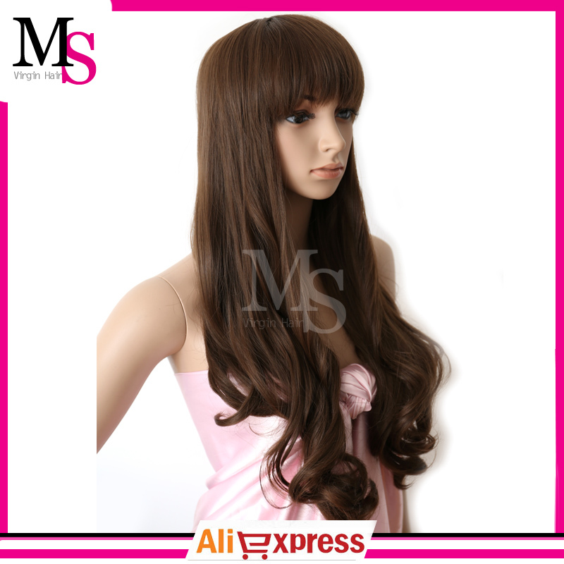 2015 new synthetic hair wig heat resistant fiber kanekalon wig for women fashion extra long hair Cartoon wig(China (Mainland))