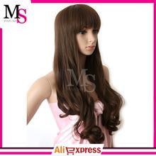 2015 new synthetic hair wig heat resistant fiber kanekalon wig for women fashion extra long hair Cartoon wig(China (Mainland))