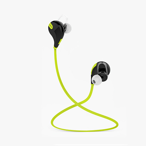 96KHZ Sports Wireless Bluetooth 4.0 Earphones neckhook headphones QY7 importing Storage for Smartphone Tablets PC FREE Shipping(China (Mainland))