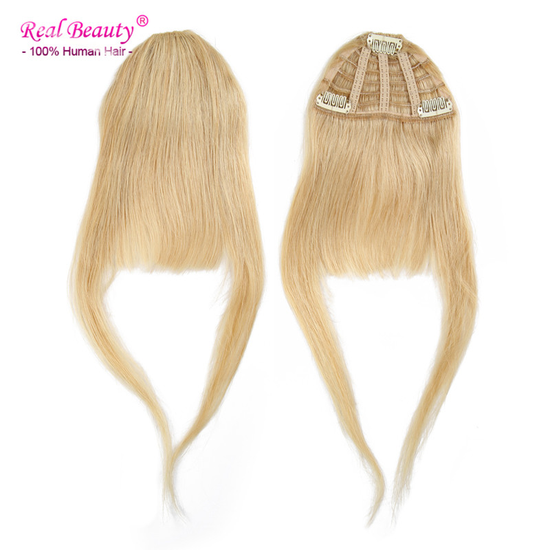 Clip In Bangs Human Hair Straight Hair Extension 100% Human Hair Fringe Bangs 25g Clip On Bangs Human Hair Free Shipping