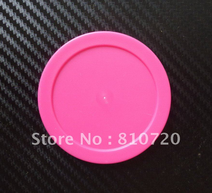 "NEW HOT PINK Free shipping 4pcs/lot 63mm Air Hockey Table RED Puck mallet 63mm 2-1/2"" FREE SHIPPING GIFT NEW(China (Mainland))"