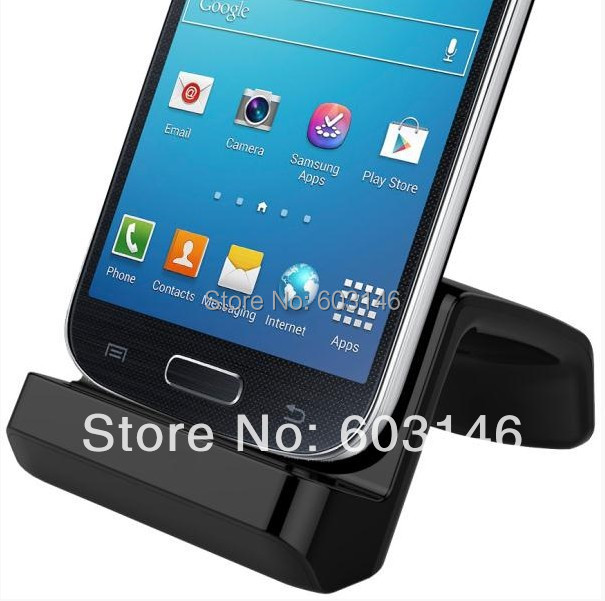 Free Shipping Universal Docking Station for Samsung Galaxy S4 Mini Desktop Charging Cradle with AC Adapter+Micro USB Cable(China (Mainland))