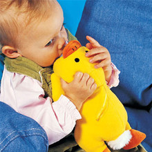 Yellow Duck and Green Turtle Cartoon Feeder Lagging Baby Bottle Huggers Infant feeding bottle bag case