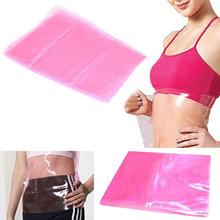 Cellulite Fat Burner Sauna Slimming Shape-Up Waist Body Plastic Belt Wrap Best  6YHR