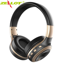 Buy ZEALOT B19 Headphone LCD Display HiFi Bass Stereo Bluetooth Wireless Headset Mic TF Card Slot Foldable Earphone Headphones for $20.72 in AliExpress store