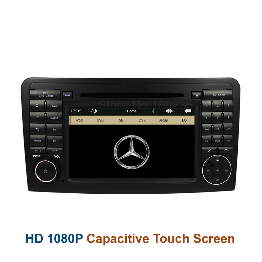 Original UI Car DVD Radio Player GPS for Mercedes/Benz ML W164 W300 ML350 ML450 ML500 GL X164 G320 GL350 GL450 GL500(China (Mainland))