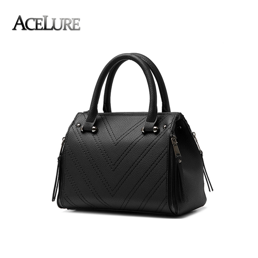 Women Superior Quality Shoulder Bags Simple Female Graceful Handbags Ladies All-Match Crossbody Bags Sac A Main Pu Leather Totes(China (Mainland))