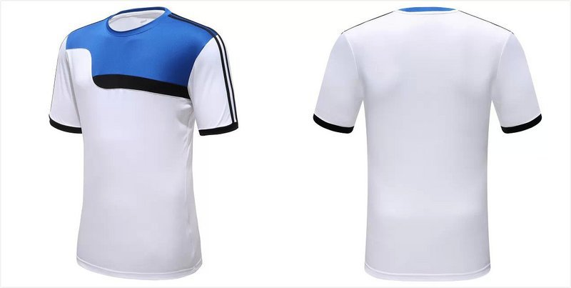 2015 New Thailand Quality Soccer Sports Jersey Fashion Football Shirts Custom Personalized Name and Number With your own Logo(China (Mainland))