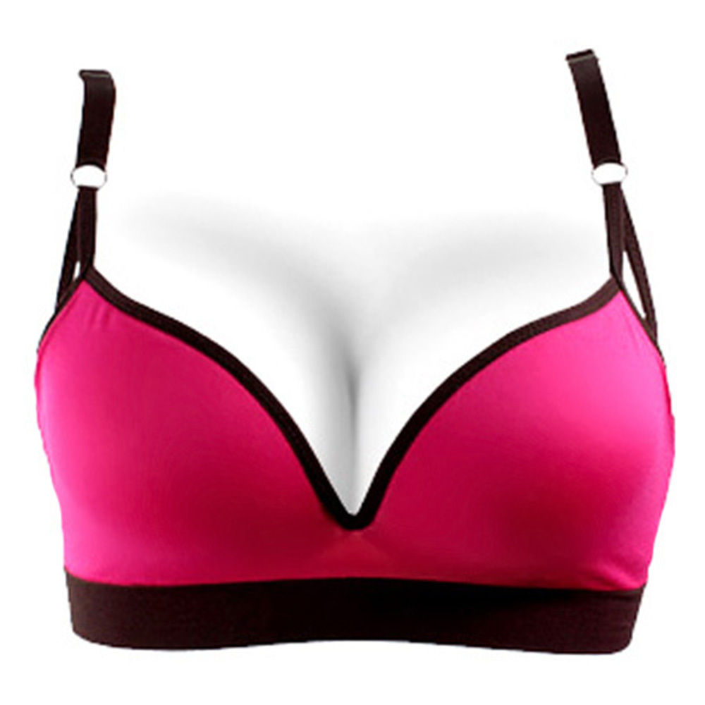 Candy Colors Women Sports Fitness Workout Vest Tops Seamless Bra Padded Bra