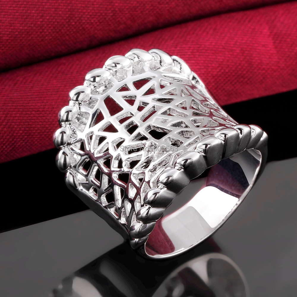 fashion new arrivals shiny fine eldgant party ring /silver plated jewelry promotion price / LKNSPCR542 - Discounts Jewelry Store store