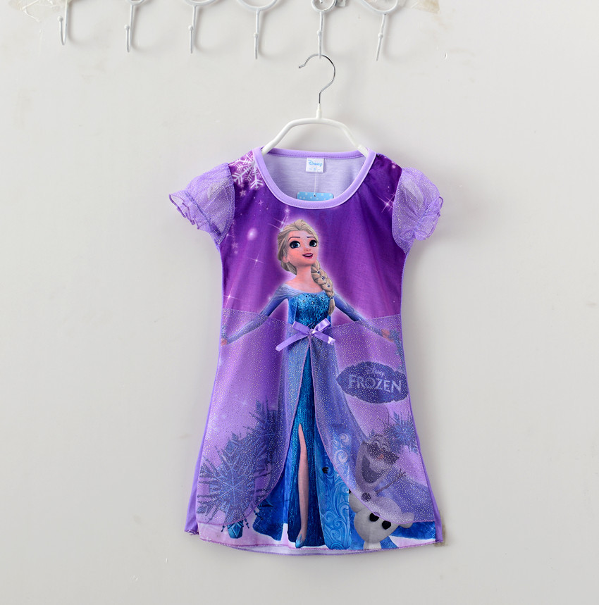 2015 purple dress baby girl dress purple veil girls