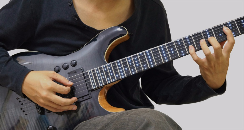electric guitars musical instruments smart guitars china guitarra electrica instrumentos musicales chinese electric guitars led(China (Mainland))