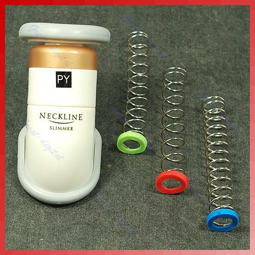 Гаджет  free shipping neck slimmer portable neck exerciser thin jaw chin massager None Красота и здоровье