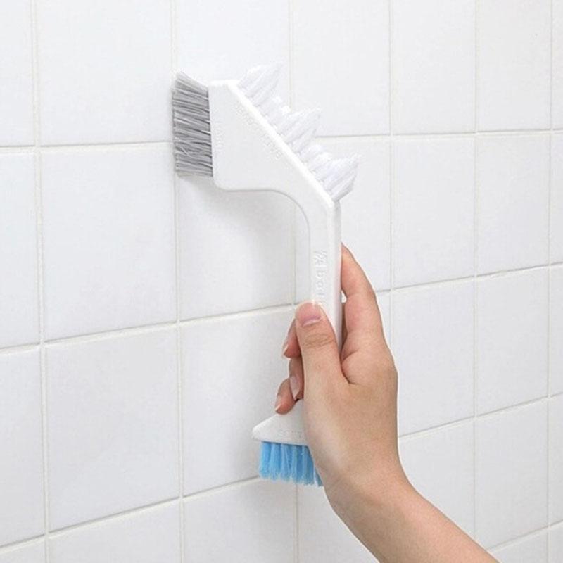 Household Necessities Bath Room Tile Brush Crevice Brush Floor Brush Kitchen Cleaning Brush Tools Free Shipping(China (Mainland))