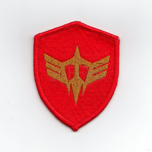 100%Embroidery GUNDAM ZEON BLACKTRI-STARS Military Tactical Morale Embroidery Patch Badges B2440